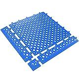 Partners Brand PMAT320BE Lok-Tyle Drainage Mats, Tile, 12'' x 12'', Blue
