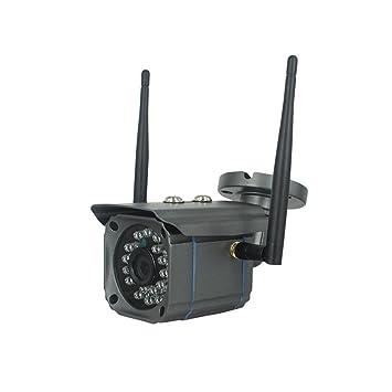 Cámara de seguridad de vigilancia de la casa, cámara de seguridad inalámbrica WiFi 720p HD móvil de detección de voz de intercomunicación para IOS y ...