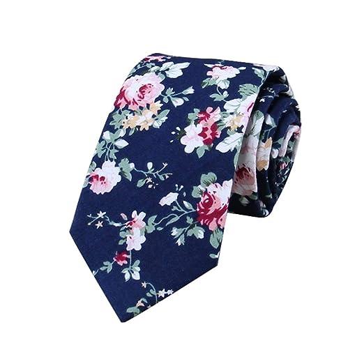 Gespout 1artículo Corbata de Algodón Impresa Corbata de Lazo de ...