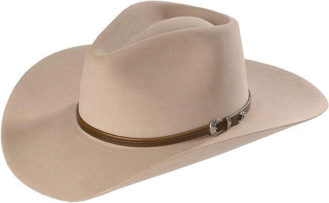 STETSON Spartan Cowboy Hat 100/% Wool Felt 4X Quality Felt Made In USA Cattleman
