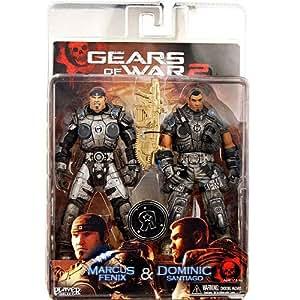 Neca double pack gears of war 18cm marcus dominic for Gears of war juego de mesa