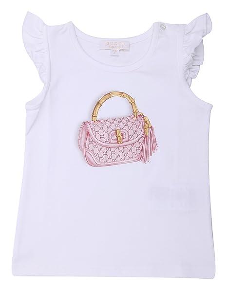 Gucci - Camiseta de Manga Corta - para niño Blanco XXL