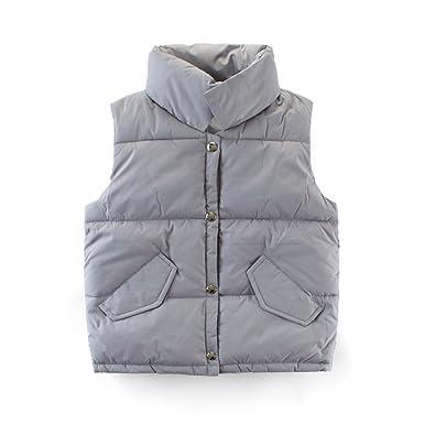 d9a386a0e7b8 Amazon.com  Mallimoda Boys Girls Lightweight Down Vest Puffer Jacket ...