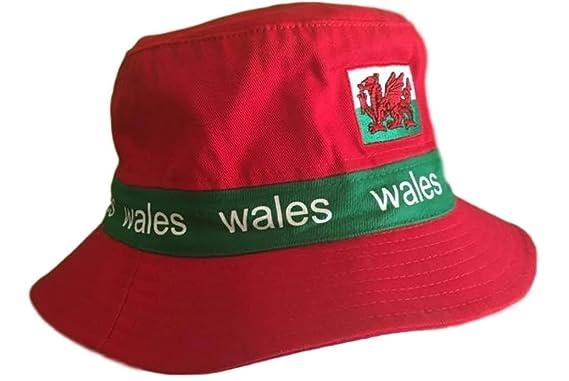 WELSH WALES CYMRU RUGBY SUMMER FISHING BUCKET HAT  Amazon.co.uk ... 310c12fe40a3