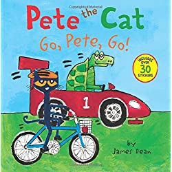 Pete the Cat: Go, Pete, Go!