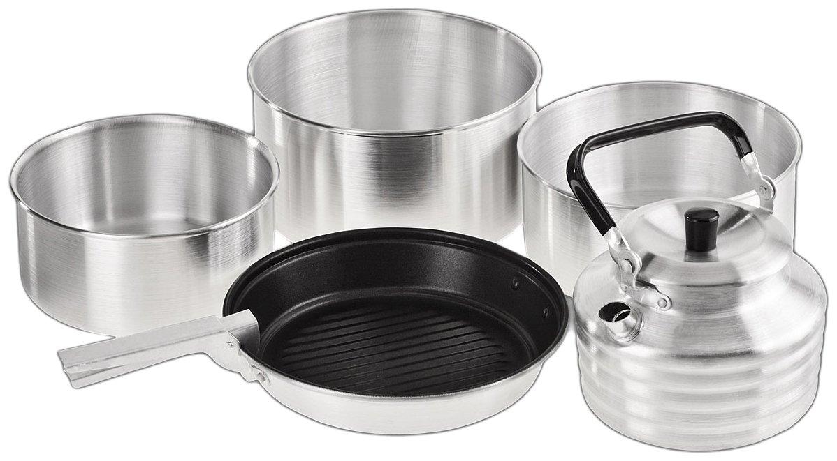 BCR3903 Piece Cooking Set Silver 14.5 x 22 x 22 CM Crevice Black 5