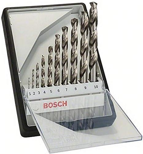 Bosch Professional Metallbohrer HSS-G geschliffen mit langer Arbeitsl/änge 5 St/ück, /Ø 2,5 mm