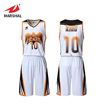 Fabric White With Amazon Custom Jerseys Set Mesh Color Sublimation Name Not Mens Basketball co Sports uk Outdoors Fade amp; Uniforms Zhouka