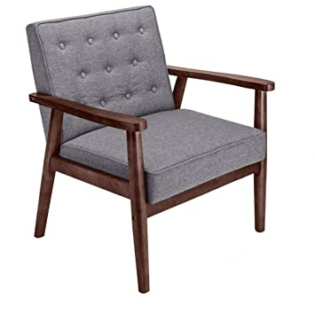Terrific Amazon Com Azamon Antique Modern Unique Mid Century Retro Theyellowbook Wood Chair Design Ideas Theyellowbookinfo