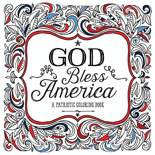 God Bless America: A Patriotic Coloring - Mall Stores Roosevelt
