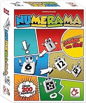 Mercurio Numerama - Juego de Mesa [Castellano]: Amazon.es ...