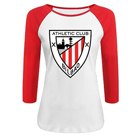 quality design a2cb1 b88a9 OZO6 La Liga Athletic Club Bilbao LOGO Raglan 3/4 Sleeve ...