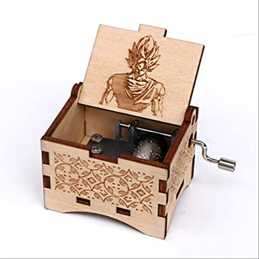 IANSISI Caja Musica Niña Dragon Ball Caja De Música De Madera ...