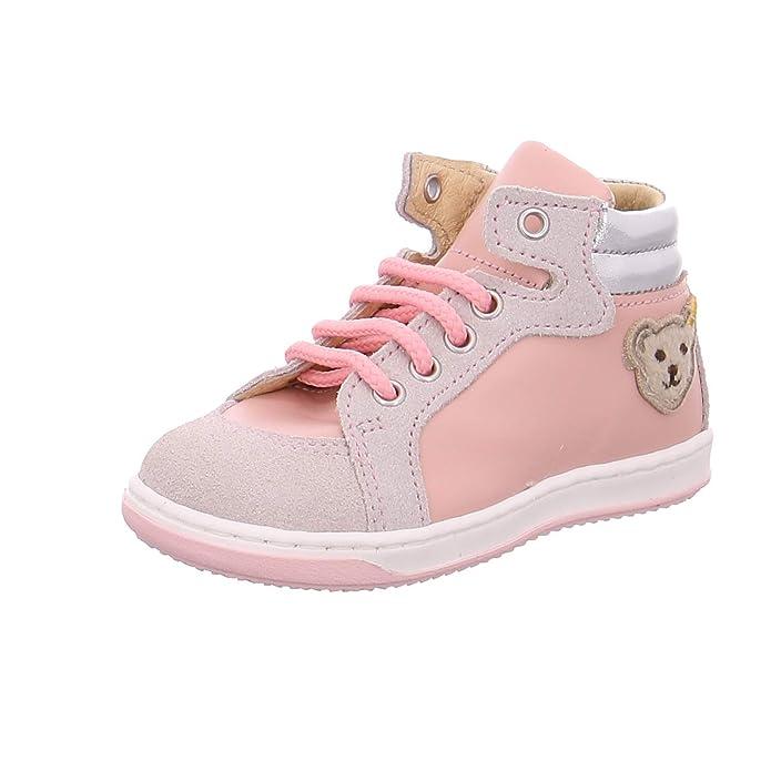 24 Steiff Lauflern Kleinkind Schuh Sandale TESSAA gr 25  pink 22 23