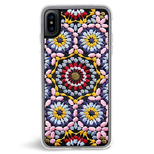 Embroidered Case Phone (ZERO GRAVITY iPhone X Cell Phone Case-Apple iPhone X Phone Case by Zero Gravity (Casbah))