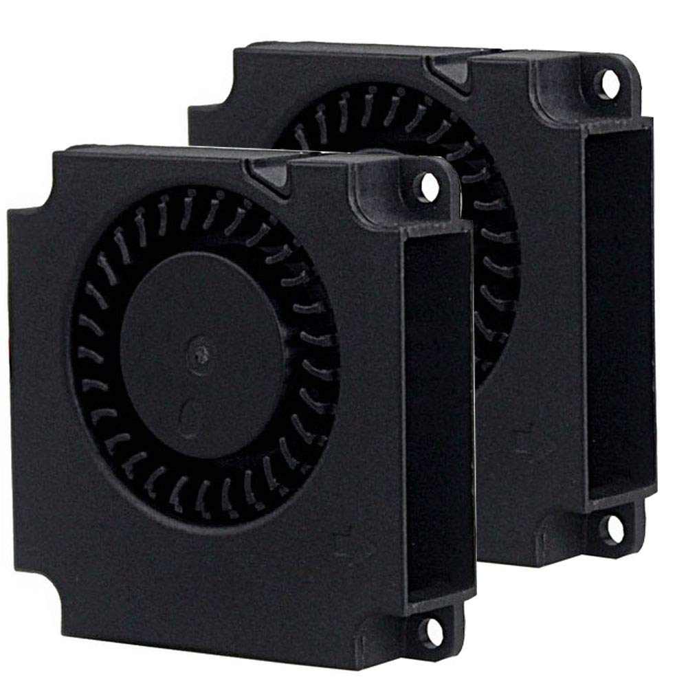 2Packs Wathai DC Blower Fan 4010 Radial Cooling Fan 5V 2 Pin DC 40mm x 10mm
