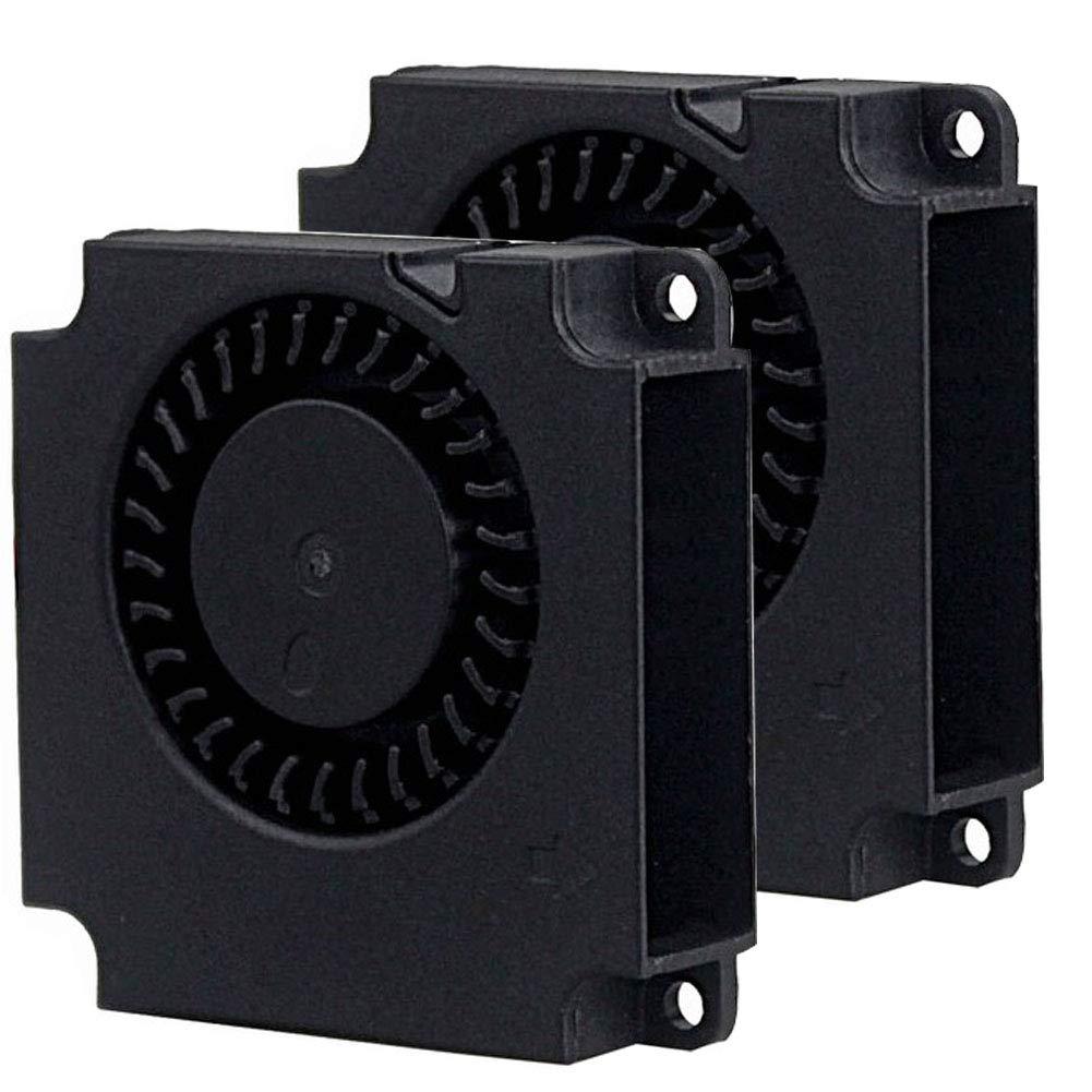 2Packs Wathai DC Blower Fan 4010 Radial Cooling Fan 5V 2 Pin DC 40mm x 10mm