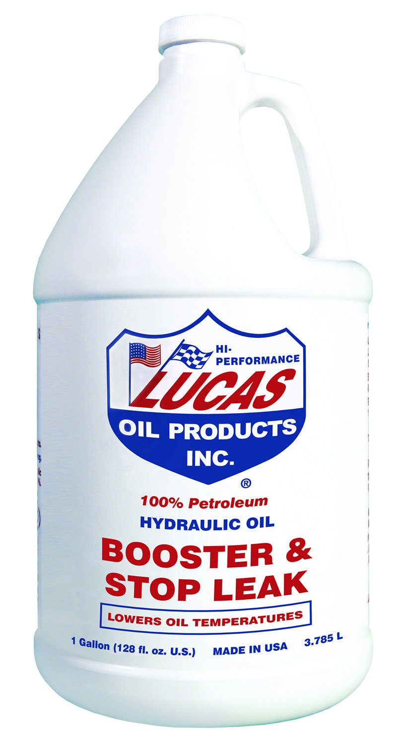 Lucas Oil Hydraulic Oil Booster and Stop Leak 1 gal Case of 4 P/N 10018-4 by Lucas Oil