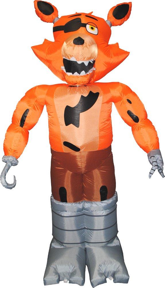 Morbid Enterprises Five Nights at Freddy's Foxy Inflatable Yard Decoration by Morbid Enterprises (Image #1)