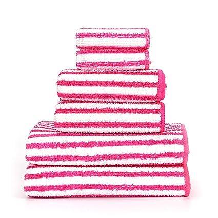 Hjyi Toalla, Toalla Suave Toalla Absorbente rápido Seca de la Cara de algodón Deportes baño