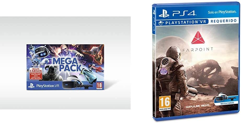 Mega Pack VR (PS4) + Farpoint: Amazon.es: Videojuegos