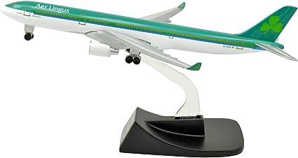14cm Air Aer Lingus Airbus A330 Airlines Plane Model Metal Airplane Aircraft