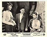 #3: CASBAH ORIGINAL LOBBY CARD YVONNE DE CARLO MARTA TOREN TONY MARTIN PETER LORRE