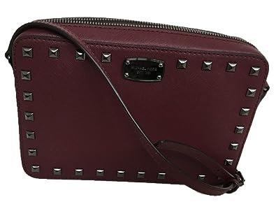 f455ef76b171 Michael Kors Saffiano Stud Leather Large EW Crossbody Bag Color ...