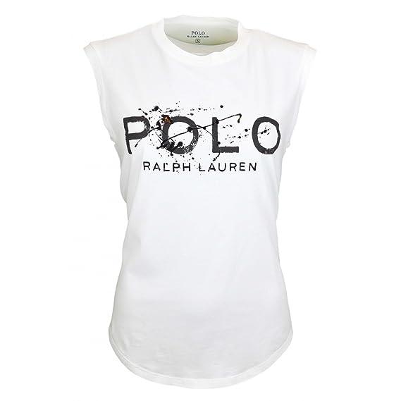 Ralph Lauren - Camiseta - para Mujer Blanco XL