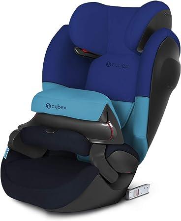 Oferta amazon: Cybex - Silla de coche grupo 1/2/3 Pallas M-Fix SL, silla de coche 2 en 1 para niños, para coches con y sin ISOFIX, 9-36 kg, desde los 9 meses hasta los 12 años aprox.Blue Moon