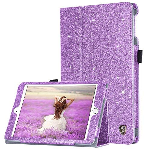 iPad Mini 4 Case, BENTOBEN Slim Lightweight Glitter Bling PU