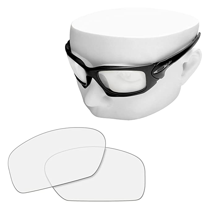 81ed195e5d7 OOWLIT Replacement Sunglass Lenses for Oakley Scalpel POLARIZED (HD Clear