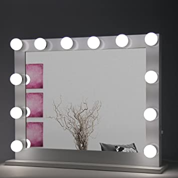Amazon Com Hollywood Makeup Vanity Mirror Kit With Dimmable