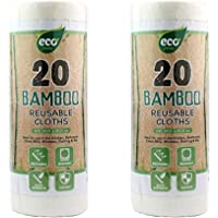1 x Bamboo Reusable Towels 20 Sheets