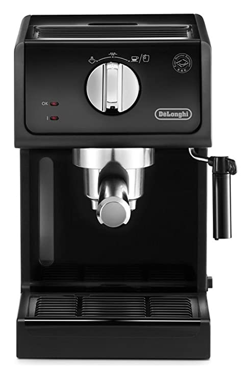 De Longhi ecp31.21 máquina de café espresso manual Capacidad 1.1 L potencia 1100 W) negro: Amazon.es: Hogar
