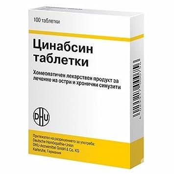 Cinnabsin® 2 X 100 comprimidos/Dulces - Tratamiento ...