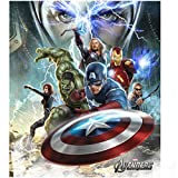The Avengers Collage Hulk Thor Iron Man Captain America Black Widow Hawkeye and Loki 8 x 10 Poster Photo and with FREE COMIC CON GIFT!
