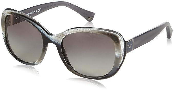 Armani Jeans- Lunette de soleil Mod.4052 - Femme  Amazon.fr ... e980bd61cbe8