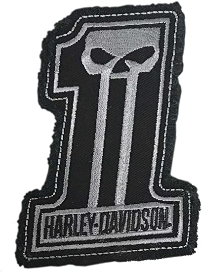 """Pkg of 5 Harley-Davidson 8/"""" x 4/"""" x 8/"""" Heart with Silver Trim Shopping Gift Bags"""