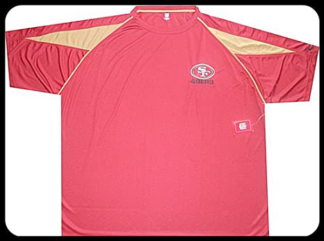 Image Unavailable. Image not available for. Color  SAN FRANCISCO 49ERS NFL  DRI FIT SHIRT ... de97cc892630