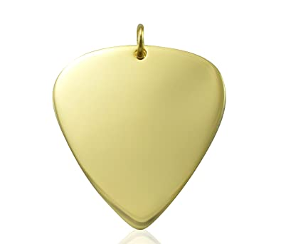 9ct gold necklacepick for guitarists guitar pendant only guitar 9ct gold necklacepick for guitarists guitar pendant only mozeypictures Choice Image