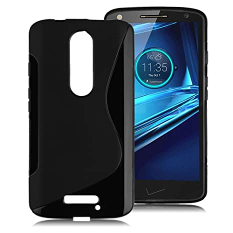 sale retailer 91710 55ae8 S Case Rubber Back Cover For Moto X Force: Amazon.in: Electronics