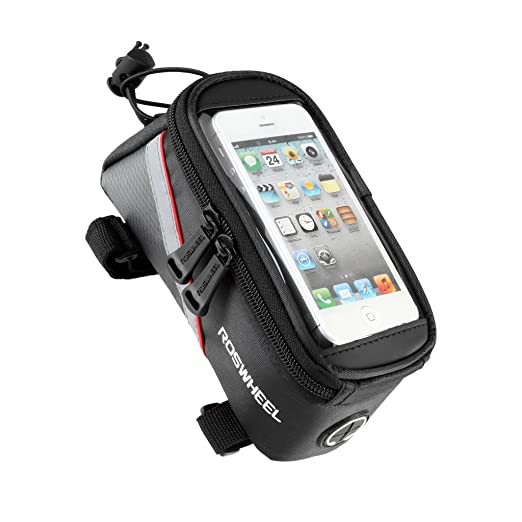 248 opinioni per Impermeabile MTB BMX Bicicletta ciclismo Telaio Borsa Bici Frontale Telefono