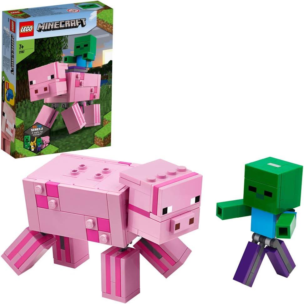 レゴ(LEGO) マインクラフト マインクラフト ビッグフィグ ブタとベビーゾンビ 21157