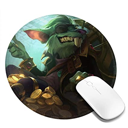 Amazon.com: Mouse Pad Twitch Printed Round Mouse Pads ...