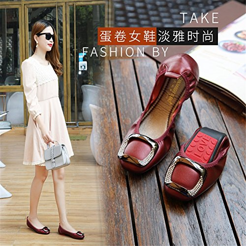 Chaussures Mocassin Femmes Fond Casual Confort Été Surface pour Plat Printemps Appartements HUAN Doux Mocassins Doux Microfibre B SqUWd5RCC