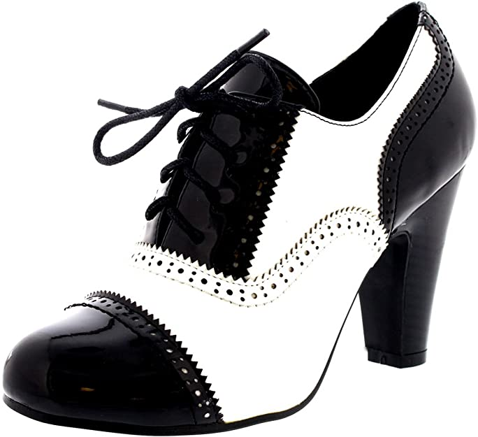 VIVA Femmes Bloc Mi Talon Chaussez Soir Travail Mary Jane Bottines Chaussure