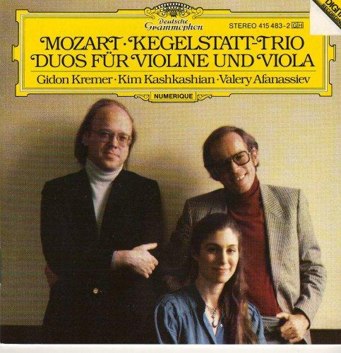 Mozart: Kegelstatt Trio / Duos Fur Violine Und Viola - Kegelstatt Trio