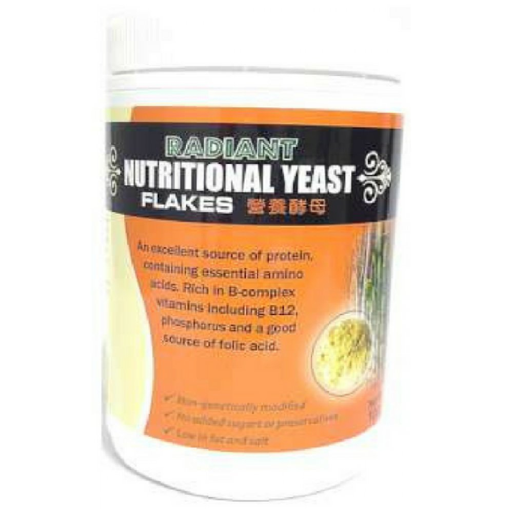 Radiant Nutritional Yeast Mini Flakes 100g (628MART) (1 Count)