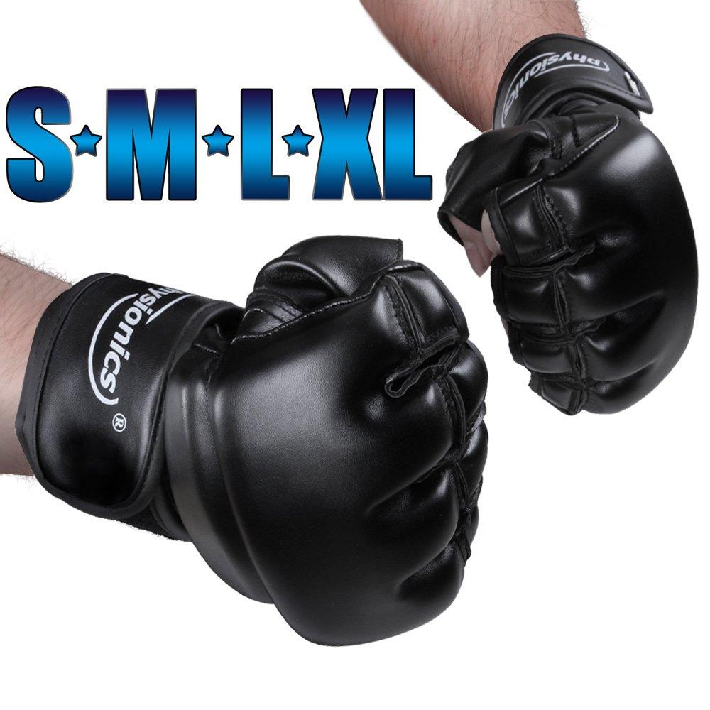 Physionics® - BXHS02-XL - Guantes MMA - Talla XL - Diferentes Tallas a Elegir Jago AG